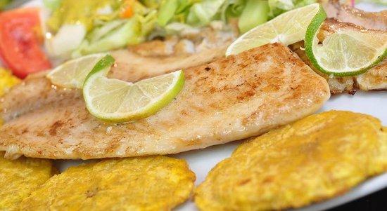 Restaurante Las Brasas: Filete de Pescado
