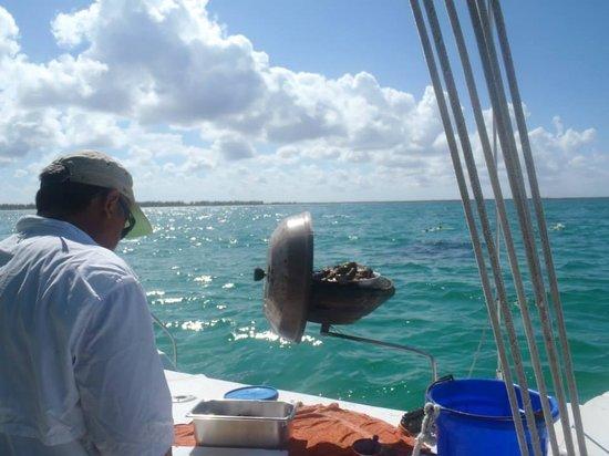 Cozumel Sailing : Food!