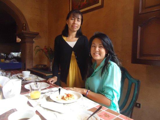 Hotel Tradiciones Antigua: Beatriz que cuidou da gente durante a estadia no hotel