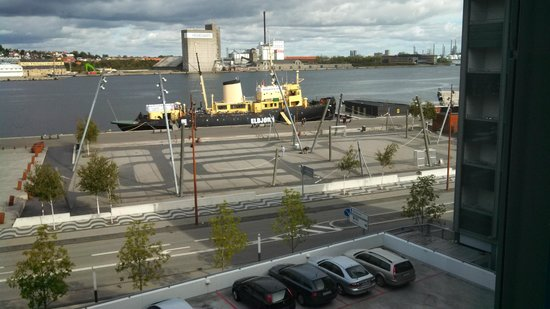 Radisson Blu Limfjord Hotel, Aalborg: View from north wing room