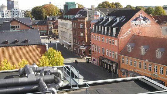 Radisson Blu Limfjord Hotel, Aalborg: View from west wing room