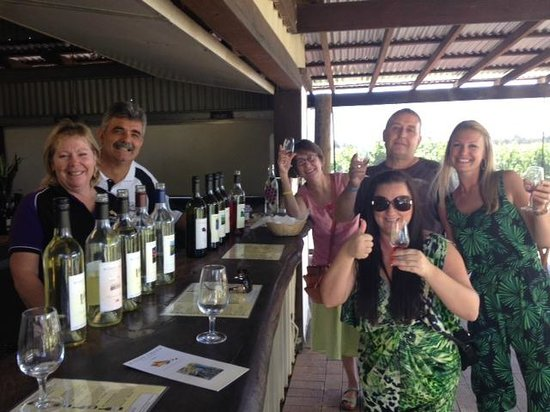 Out & About Wine Tours: Tour Group November 8 2013
