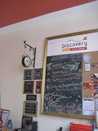Discovery Hostel : Hostel Desk