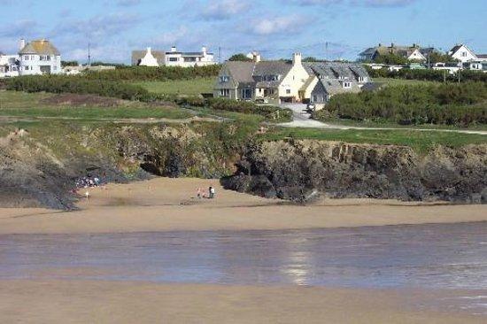 YHA Treyarnon: View from the beach II