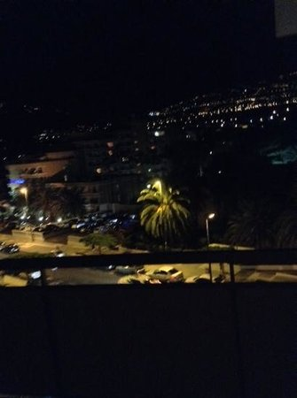 Interpalace by Blue Sea: night view from room