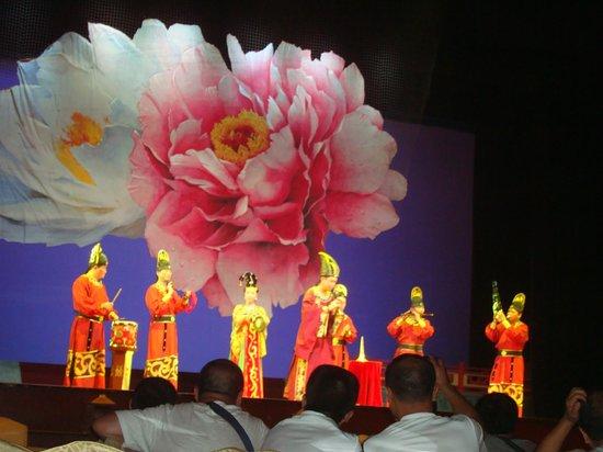 Shaanxi Grand Opera House Xi'an: Cenários bem chamativos.