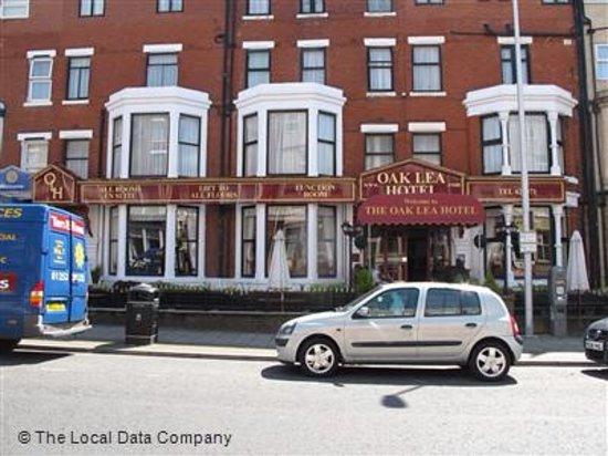 Oak Lea Hotel Albert Road Blackpool