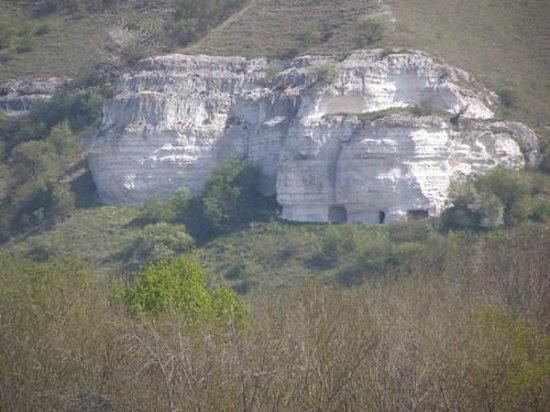 Ande, Francja: les falaises #d'escalade de Connelle#