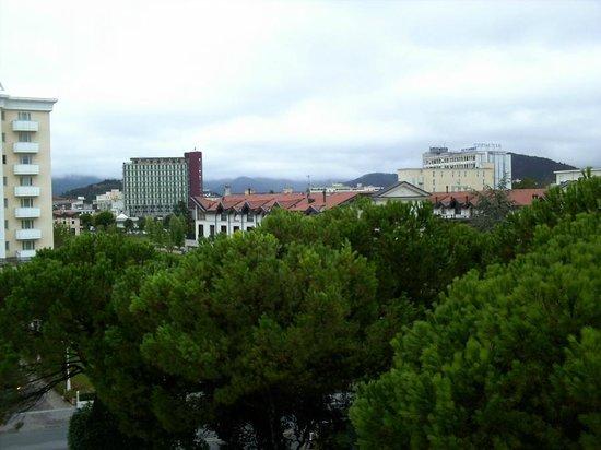 Hotel Terme Bologna: Вид с балкона