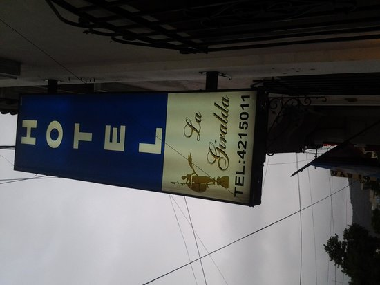Hotel La Giralda I: look for this