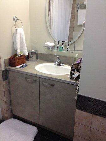 The Savoy Hotel : Lilliputian bathroom