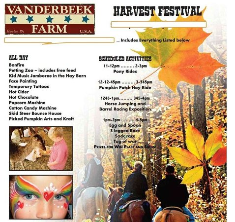 Vanderbeek Stables - Private Rides : A typical event at the Farm