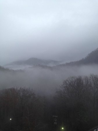 Park Vista - DoubleTree by Hilton Hotel - Gatlinburg: View of Park from 10th Floor Room