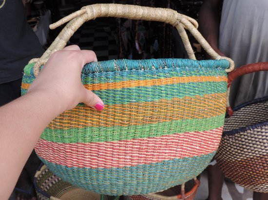 Academy for African Music and Arts: Beautiful baskets