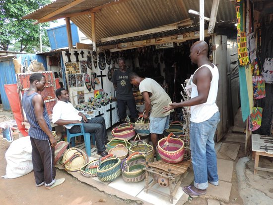 Academy for African Music and Arts: Example of store