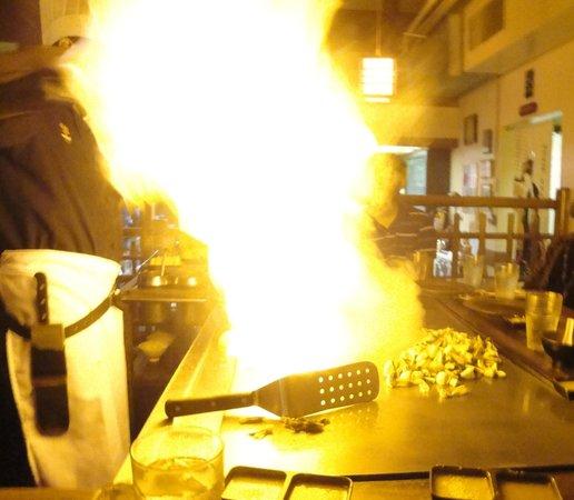 Kobe' Japanese Steak House: Onion Volcano