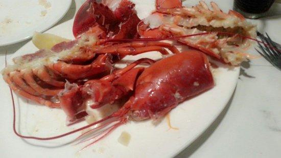 The Lobsterman: Habis makan