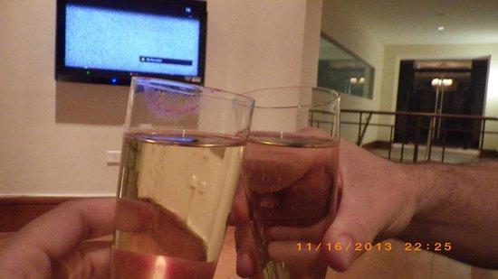 Punta Del Este Resort & Spa: Welcome drink