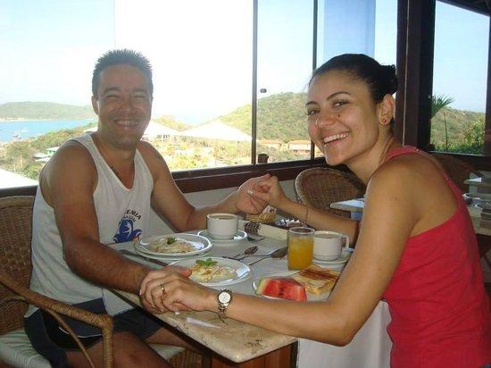 Pousada Santorini: Café da manhã