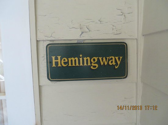 Authors Key West Guesthouse: Cottage name
