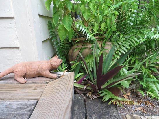Authors Key West Guesthouse: Porch