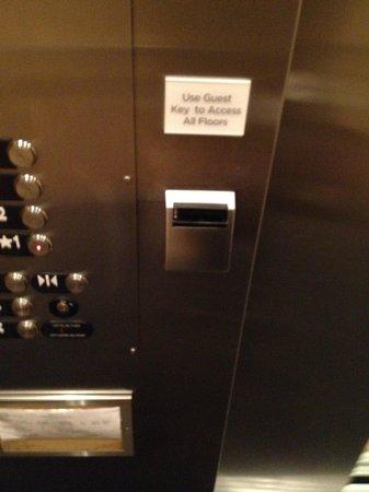 Nullagvik Hotel: elevator