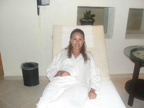 The Westin Resort & Spa, Cancun : relajada despues de un rico masaje