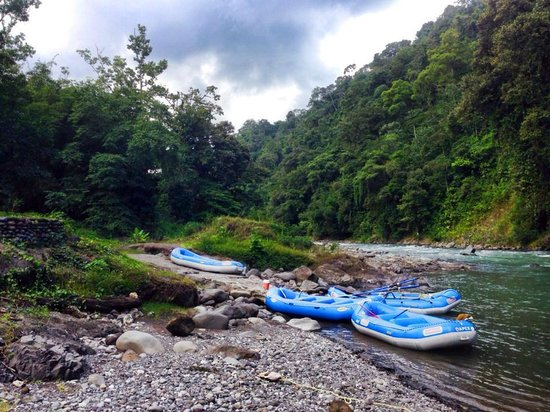 Pacuare Lodge: river