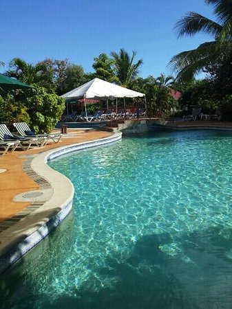 Coco Palm Resort : swim up room