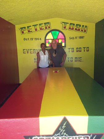 Peter Tosh Monument: Inside
