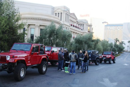 Las Vegas Rock Crawlers : Pick up at Ceasers Palace