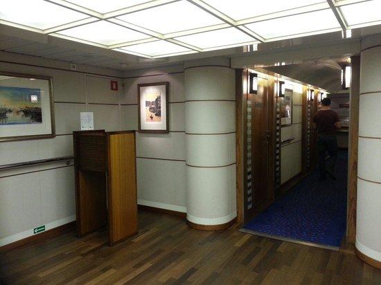 DFDS : De luxe reception area
