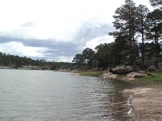 Arareco Lake : lago de arareko estaba por llover