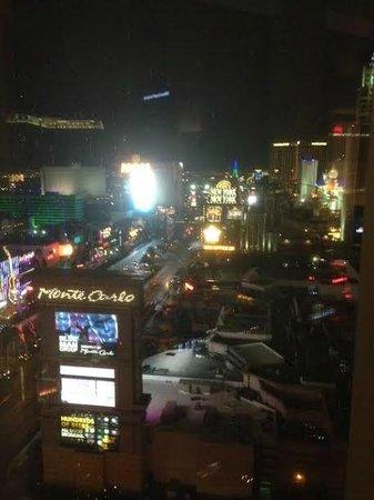 Mandarin Oriental, Las Vegas: View at night