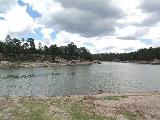 Arareco Lake : una vista muy hermosa