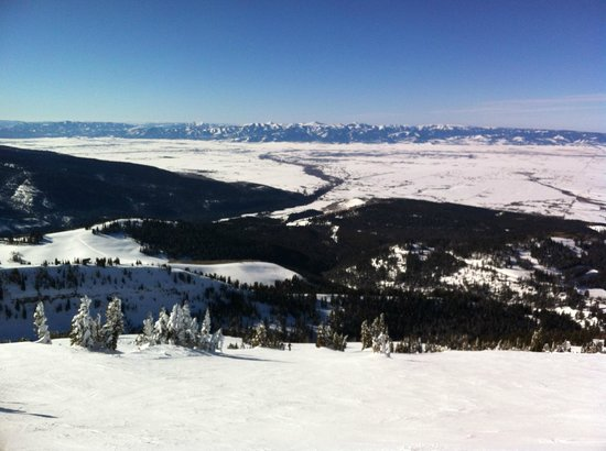 Grand Targhee Resort: Top of the mountain