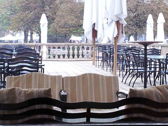 Esplanade Zagreb Hotel: Terraza del bar.