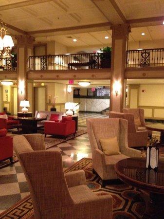 The Westin Poinsett, Greenville : Beautiful Lobby