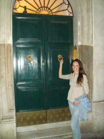 Romeo al Babuino: Porta do Hotel