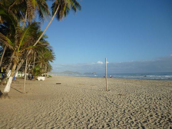 Hesperia Playa El Agua: playa el agua