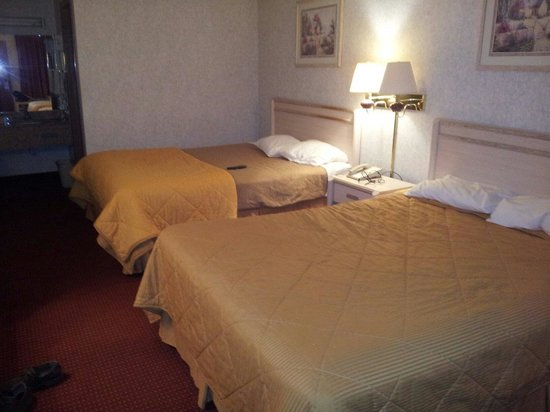 Econo Lodge Inn & Suites: A typical room