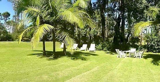 Hotel Camelot: jardin-garden