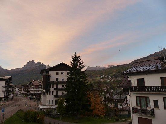 Hotel Natale: Amanhecer perfeito em Cortina!