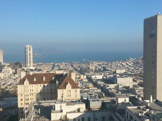 InterContinental Mark Hopkins San Francisco: View from the Top of the Mark
