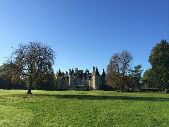 Château Golf des Sept Tours: hotel por fora