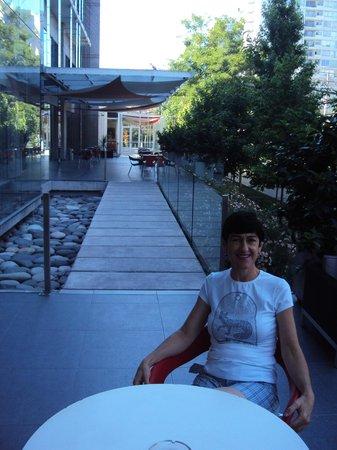 Best Western Premier Marina Las Condes : varanda do hotel