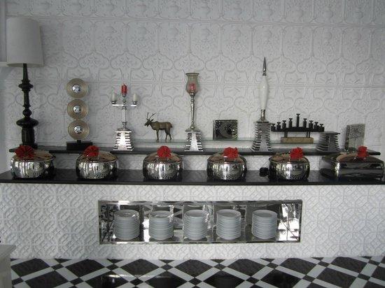 Tajma Sago Resort: Restaurant