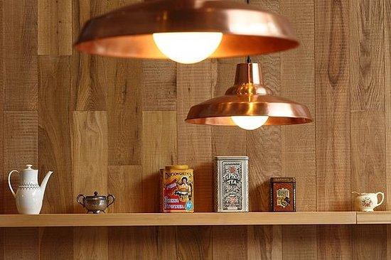 Magnífico Cocina Colgante De Cobre Ideas Ornamento Elaboración ...