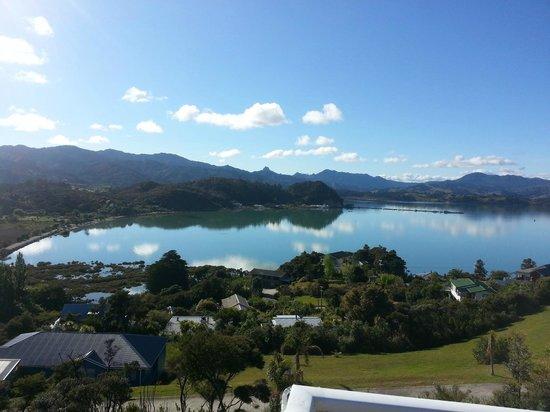 Coromandel Seaview Motel Style B&B : View from Deck