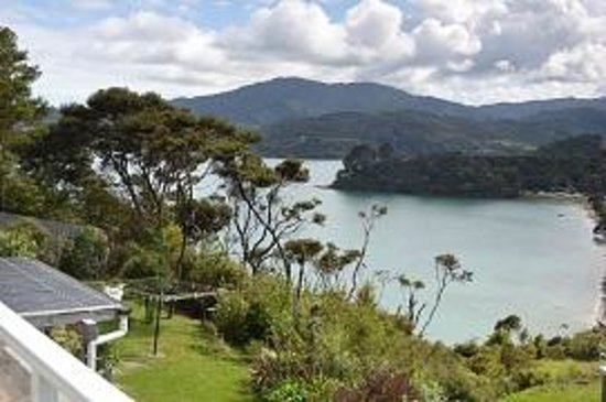 Coromandel Seaview Motel Style B&B: View from Deck